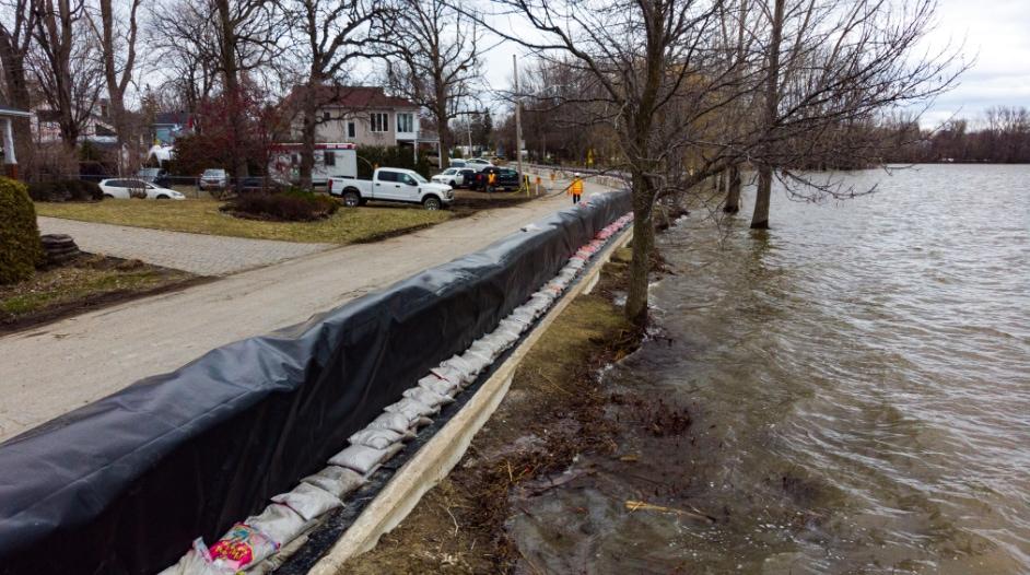 Barrière de drainage